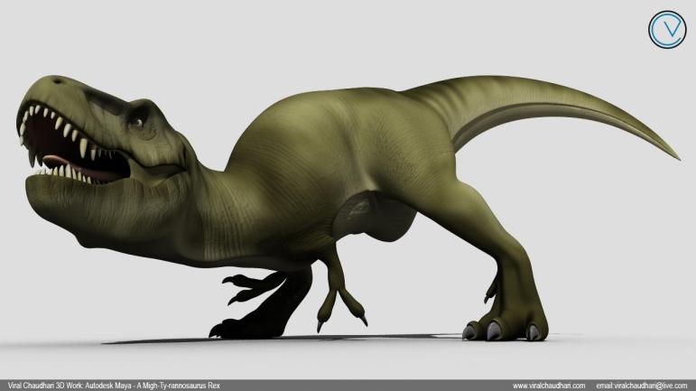 t rex viral chaudhari vicie animation 01