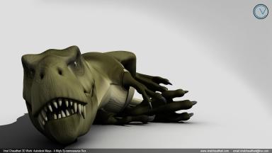 t rex viral chaudhari vicie animation 03