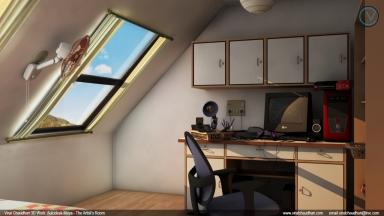 the artist's room viral chaudhari 3d work no01